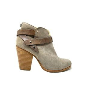 Rag & Bone Suede Ankle Boots - Size 38